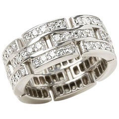 Cartier Diamond Maillon Ring