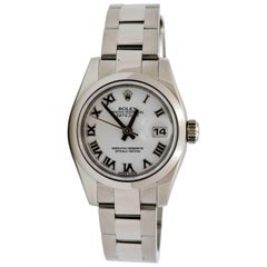 Rolex Stainless Steel Datejust automatic Wristwatch