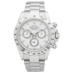 Rolex Stainless Steel Daytona Chronograph Automatic Wristwatch Ref 116520