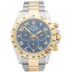 Rolex Yellow Gold Stainless Steel Daytona Automatic Wristwatch Ref 116523, 2009
