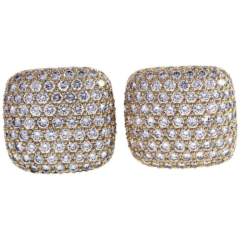 Mayors Gold and Diamond Cufflinks