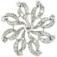 Gübelin Diamond Brooch