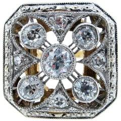 Park Place Antique Jewelry Exquisite Edwardian Diamond Ring
