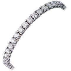 Diamond Tennis Bracelet  5 Carats