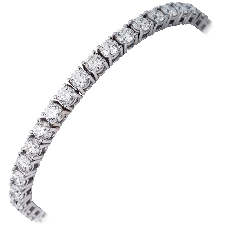 Diamond Tennis Bracelet  5 Carats