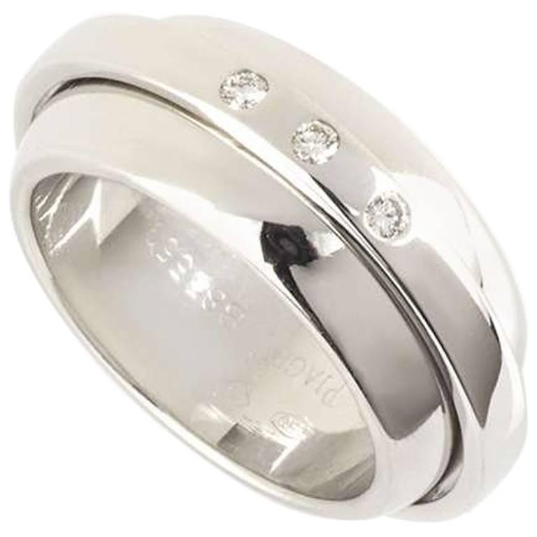 Piaget White Gold Possession Band Ring
