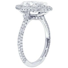 GIA Certified 2.00 Carat Marquise Diamond Engagement Ring