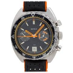 Benrus stainless steel Dato Autavia manual wind wristwatch Ref 73463, circa 1974