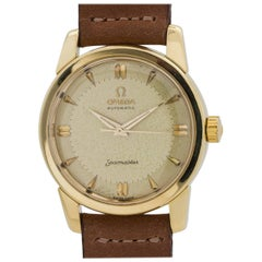 Omega Gold Filled Stainless Steel Seamaster Automatic Wristwatch Ref 2846