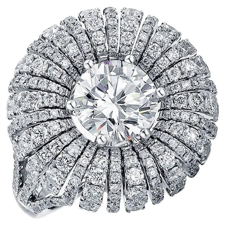 Frederic Sage 2 Carat Diamond Ring 'Centre Diamond Not included'