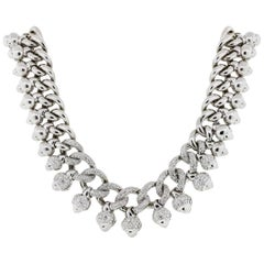 Pave Diamond Collar Necklace