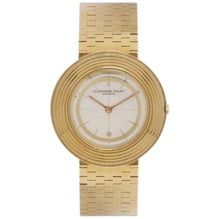 Audemars Piguet Yellow Gold Dress Wristwatch
