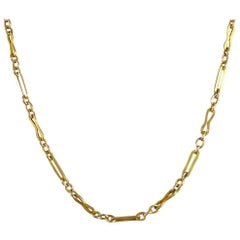 Antique Victorian Guard Chain in 9 Carat Gold