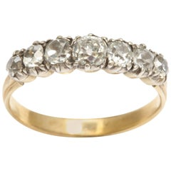 Antique Georgian Seven-Stone Diamond Ring