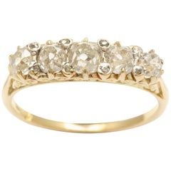Victorian Five-Stone Diamond Ring