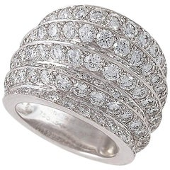 Van Cleef & Arpels Paris Estate Diamond and Gold Ring