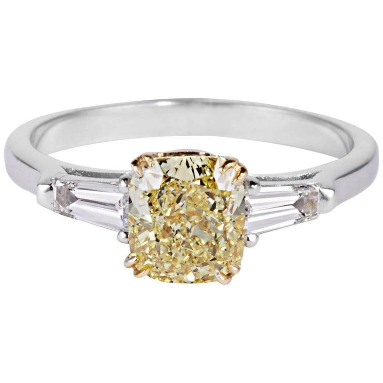 Cushla Whiting 1.59 Carat FIY  Cushion Cut Diamond 'Barbara' Engagement Ring