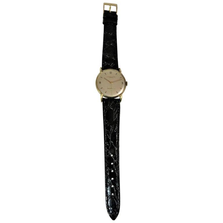 Audemars Piguet Yellow Gold Manual Wind Wristwatch, circa 1943