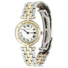 Cartier Ladies Stainless Steel Panthere Vendome French quartz Wristwatch