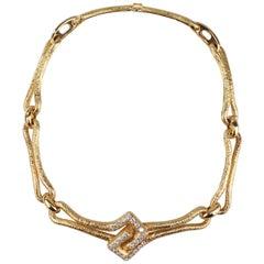 Patek Philippe Gold Diamond Necklace