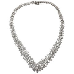 Magnificent Platinum Diamond Necklace