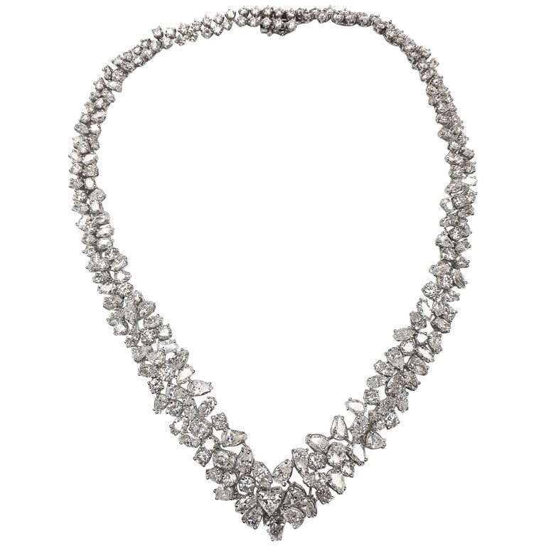 Magnificent Platinum Diamond Necklace 1