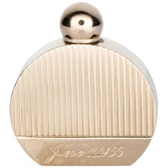 14 Karat Yellow Gold Miniature Perfume Bottle