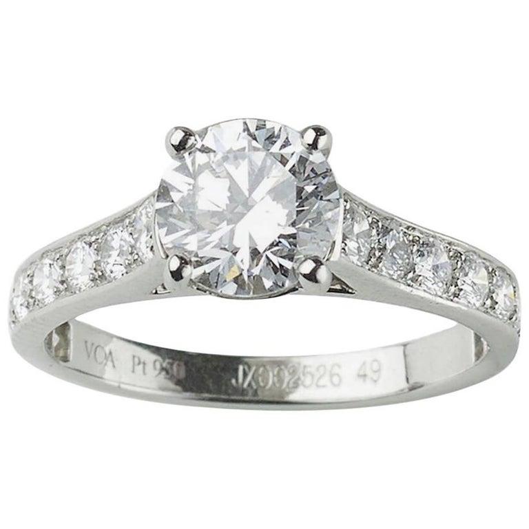 Van Cleef & Arpels Diamond Ring For Sale