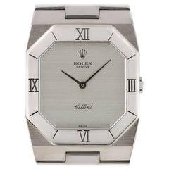Rolex White Gold Vintage Cellini automatic wristwatch ref 4350