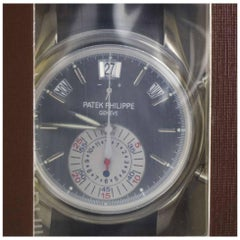 Patek Philippe Platinum Service Sealed  Annual Calendar Wristwatch Ref 5960P-001