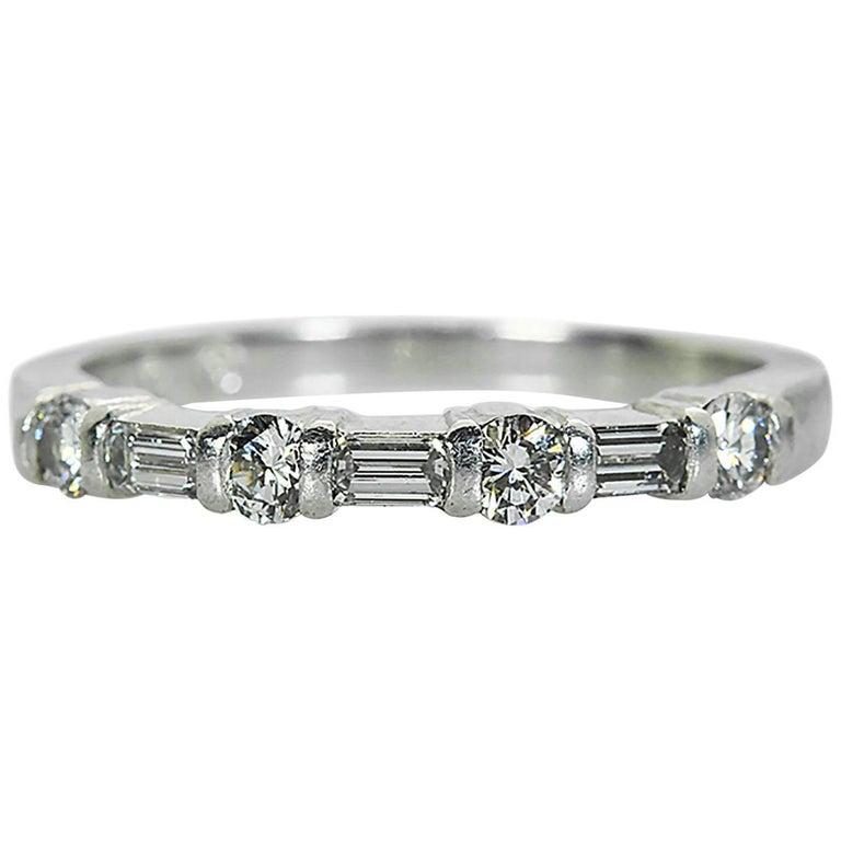 Tiffany Co Mens Platinum Milgrain Wedding Band Ring 6mm: Tiffany And Co. Platinum Milgrain Men's Wedding Band Ring