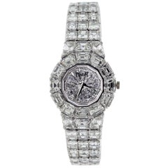 Piaget Platinum Diamond Limelight Aura mechanical Wristwatch