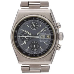 Omega Stainless Steel Speedmaster Mark IV 1/2 automatic wristwatch, circa 1970s