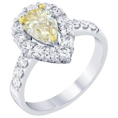 1.81 Carat Fancy Diamond Engagement Ring