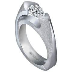 Alex Soldier Diamond White Gold Passion Engagement Ring One of a Kind