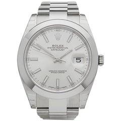 Rolex Datejust 41 Stainless Steel Gents 126300