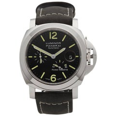Panerai Stainless Steel Luminor Power Reserve Automatic Wristwatch Ref PAM1090