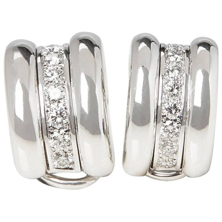 Chopard Diamond La Strada Earrings