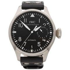 IWC Stainless Steel Big Pilots Automatic Wristwatch Ref IW500901