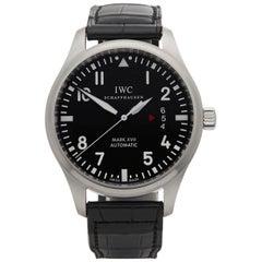 IWC Stainless Steel Mark Xvii Pilots Automatic Wristwatch Ref IW326501, 2017