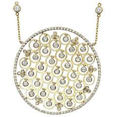 Diamond Gold Drop Necklace