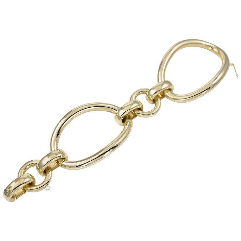 Huge Link Gold Bracelet