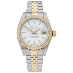 Rolex Ladies Yellow Gold Stainless Steel Datejust Automatic Wristwatch, 1992