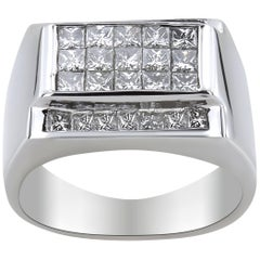 WGI White Gold Men's Diamond Ring