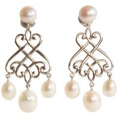 Chandelier Earrings by Marion Jeantet