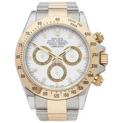 Rolex Yellow Gold Stainless Steel Daytona Chronograph Automatic Wristwatch, 2009