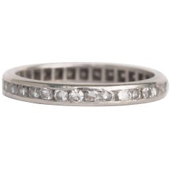 1.00 Carat, Total Weight Diamond Wedding Band