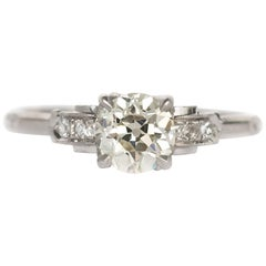 .99 Carat Diamond Platinum Engagement Ring