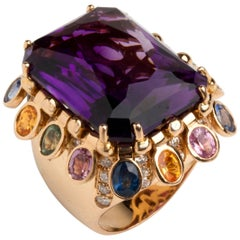 Amethyst Yellow Gold Ring, Tiffany & Co.