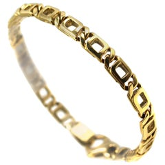 Classic Yellow Gold Curb Link Bracelet